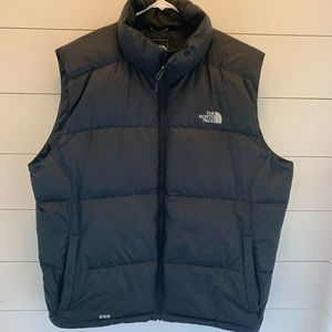 Men's North Face puffer vest